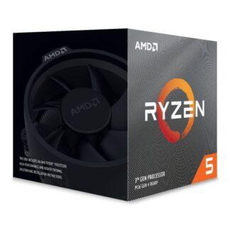 AMD Ryzen 5 3600XT CPU with Wraith Spire Cooler