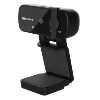 Sandberg USB Webcam Pro+ 4K with Omni-directional Mics
