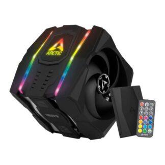 Arctic Freezer 50 Dual Tower ARGB Heatsink & Fan w/ RGB Controller