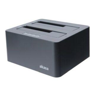 Akasa (DuoDock X3) Dual Bay USB 3.1 Gen1 Clone Docking Station