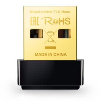 TP-LINK (ARCHER T2U Nano) AC600 (433+150) Wireless Dual Band USB Adapter