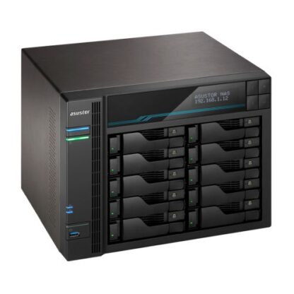ASUSTOR AS6510T Lockerstor 10-Bay NAS Enclosure (No Drives)