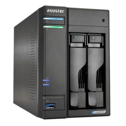 ASUSTOR AS6602T Lockerstor 2-Bay NAS Enclosure (No Drives)