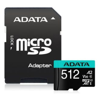 ADATA Premier Pro 512GB SDXC Card with SD Adapter