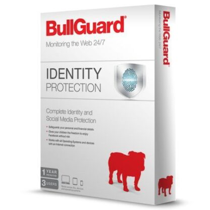 Bullguard Identity Protection Retail - Single 3 User Licence - 1 Year - PC