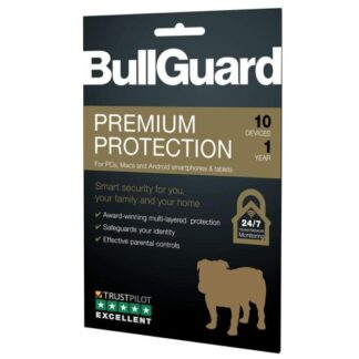 Bullguard Premium Protection 2020 Retail 10 Pack - 10 x 10 User Licences - 1 Year - PC