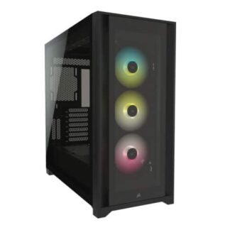 Corsair iCUE 5000X RGB Gaming Case with 4x Tempered Glass Panels