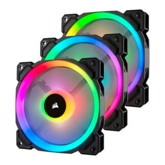 Corsair LL120 12cm PWM RGB Case Fans x3