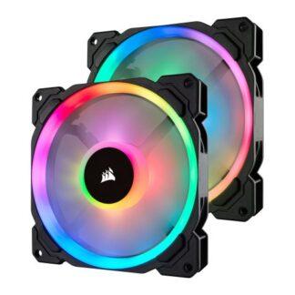 Corsair LL140 14cm PWM RGB Case Fans x2