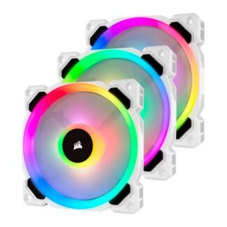 Corsair LL120 12cm PWM RGB Case Fan x3