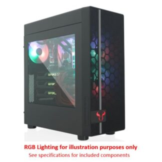 Riotoro CR400 Gaming Case with Window