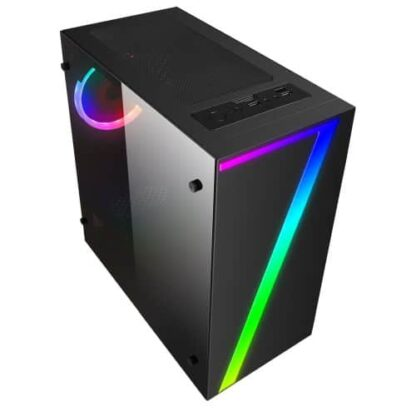 RGB Fan & Front Strip with Control Button