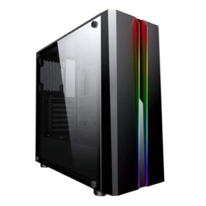Spire Zoom ATX Gaming Case with Tempered Glass Window