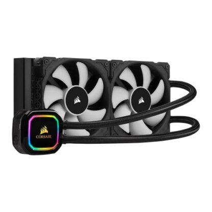 Corsair iCUE H100i RGB PRO XT 240mm RGB Liquid CPU Cooler