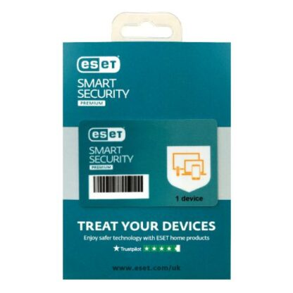 ESET Smart Security Premium Retail Box 10 Pack – 10 x 1 Device Licences  - 1 Year - PC