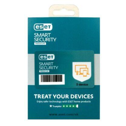 ESET Smart Security Premium Retail Box Single – Single 5 Device Licence - 1 Year - PC