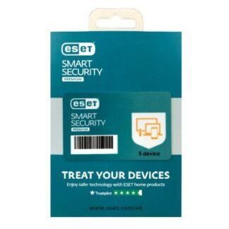 ESET Smart Security Premium Retail Box 10 Pack – 10 x 5 Device Licences  - 1 Year - PC