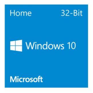 Microsoft Windows 10 Home 32-bit