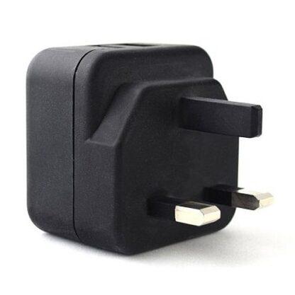 Pama 3-pin Plug Dual USB-A Charger
