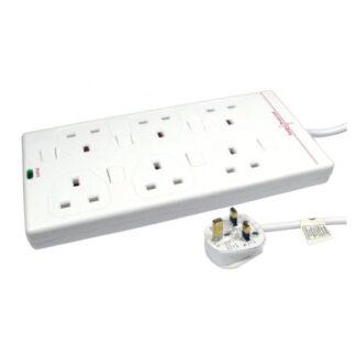 Spire Mains Power Multi Socket Extension Lead