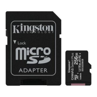 Kingston 256GB Canvas Select Plus Micro SDXC Card with SD Adapter