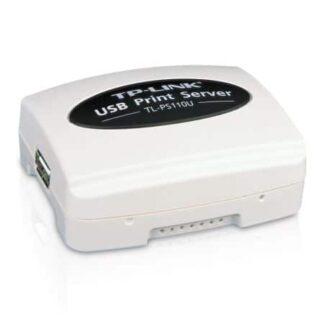 TP-LINK (TL-PS110U) Wired Single USB2.0 Port Fast Ethernet Print Server