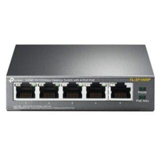 TP-LINK (TL-SF1005P) 5-Port 10/100 Unmanaged Desktop Switch