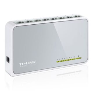 TP-LINK (TL-SF1008D V12) 8-Port 10/100 Unmanaged  Desktop Switch