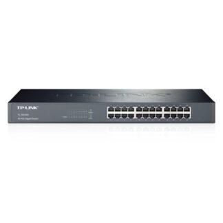 TP-LINK (TL-SG1024) 24-Port Gigabit Unmanaged  Rackmount Switch