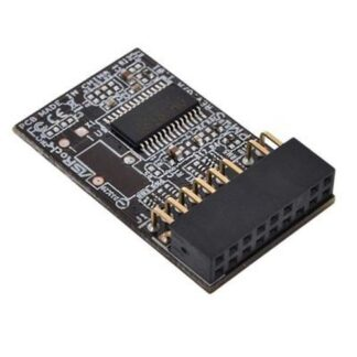 Asrock (TPM-S) TPM Module v2.0  - Works On V2.0 TPM Ready Asrock Motherboards