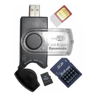 Dynamode (USB-CR-31) External Sim & Memory Card Reader