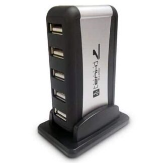 Dynamode (USB-H70-1A2.0) External 7-Port USB 2.0 Hub