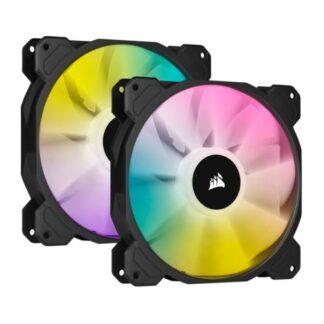 Corsair iCUE SP140 ELITE Performance 14cm PWM RGB Case Fans x2