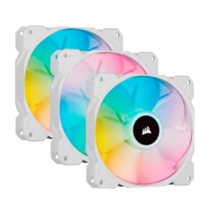 Corsair iCUE SP120 ELITE Performance 12cm PWM RGB Case Fans x3