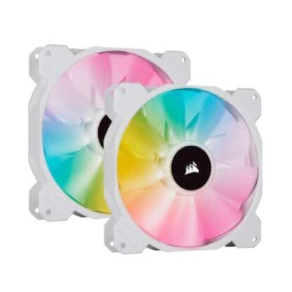 Corsair iCUE SP140 ELITE Performance 12cm PWM RGB Case Fans x2