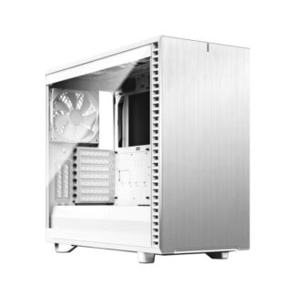 Fractal Define 7 (White TG) Gaming Case w/ Clear Glass Window