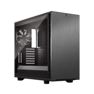 Fractal Define 7 (Light TG Grey) Gaming Case w/ Light Tint Glass Window