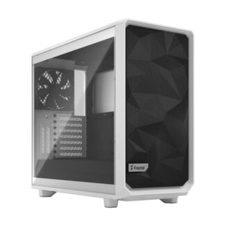 Fractal Design Meshify 2 (White TG) Gaming Case w/ Clear Glass Window