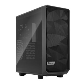 Fractal Design Meshify 2 Compact (Light TG) Gaming Case w/ Light Tint Glass Window