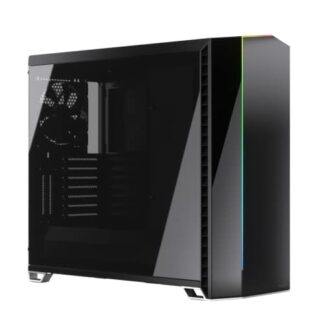 Fractal Design Vector RS (Blackout Dark TG) Gaming Case w/ Dark Tint Glass Windows