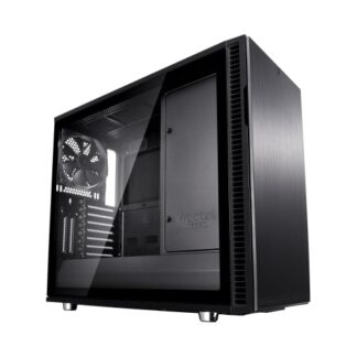 Fractal Design Define R6 (Black TG) Gaming Case w/ Clear Glass Window