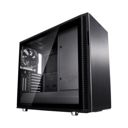 Fractal Design Define R6 (Black TG) Gaming Case w/ Clear Glass Window