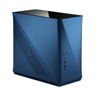 Fractal Design Era ITX (Cobalt TG) Compact Case w/ Glass Top Panel