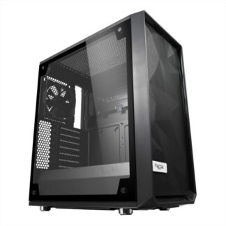 Fractal Design Meshify C (Light TG) Gaming Case w/ Light Tint Glass Window