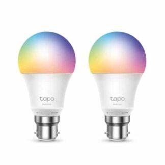 TP-LINK (Tapo L530B 2-Pack) Wi-Fi LED Smart Multicolour Light Bulb