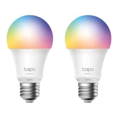 TP-LINK (Tapo L530E 2-Pack) Wi-Fi LED Smart Multicolour Light Bulb