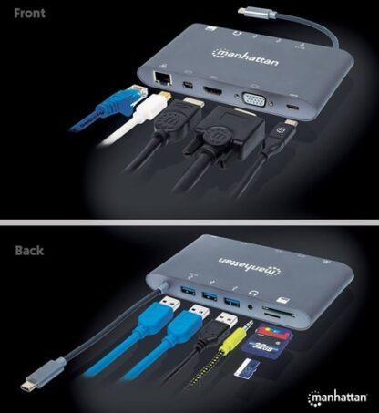 Ports (x8): USB-C to HDMI