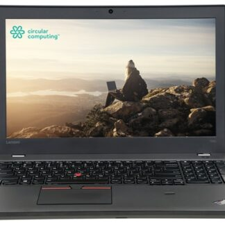 "Circular Computing Lenovo ThinkPad T560 Laptop - 15.6"" - Full HD (1920x1080) - Intel Core i5 6th Gen 6200u - 8GB RAM - 256GB SSD - Windows 10 Professional - English (UK) Keyboard – Fully Tested Battery - Wifi Wireless LAN - Webcam - 1 Year Return to Base Warranty"