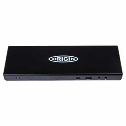 Origin Storage Origin Wired Dock USB 3.0 (3.1 Gen 1) Type-C Black EQV to DELL D6000