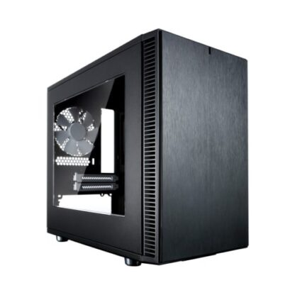 Fractal Design Define Nano S (Black Window) Quiet PC Case w/ Clear Window